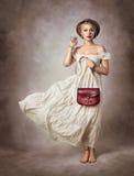 романтичная женщина Стоковые Фотографии RF
