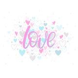 Романтичная иллюстрация сердца Стоковые Фото