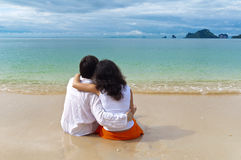 романтичная каникула стоковое фото