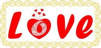 Романтичная предпосылка для любовников. День Валентайн. Стоковая Фотография RF