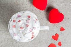 Романтичная предпосылка дня ` s валентинки стоковые фото