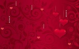 Романтичная предпосылка Стоковое Изображение RF