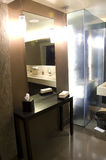 Романтичная причудливая ванная комната гостиницы Стоковое Изображение