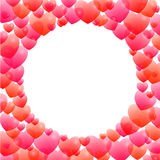Романтичная рамка Стоковое Изображение