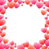 Романтичная рамка Стоковые Изображения