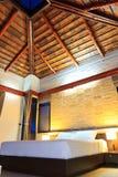 Романтичная спальня Стоковая Фотография