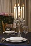 романтичная таблица Стоковое фото RF