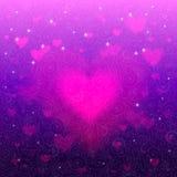 Романтичная элегантная флористическая абстрактная предпосылка Стоковые Фото