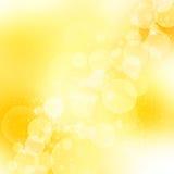 романтичное абстрактной предпосылки золотистое Стоковое Изображение