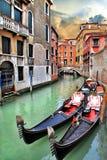 Романтичное Венеция Стоковое Изображение RF