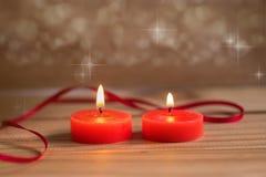 Романтичное горение миражирует предпосылку Стоковое Изображение RF