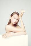 Романтичное изображение женщины Стоковая Фотография RF