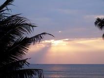 романтичное море тропическое Стоковое Изображение