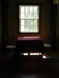 романтичное окно взгляда Стоковое Изображение RF