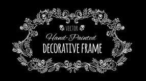 Романтичное оформление Рамка разветвленный Стоковое фото RF