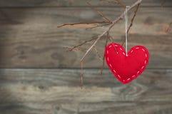 Романтичное сердце Стоковое Изображение