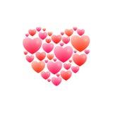 Романтичное сердце Стоковые Изображения RF