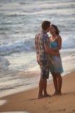 Романтичное убежище пляжа Стоковое Изображение RF