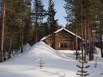 Романтичное шале wintersport Стоковое Изображение RF