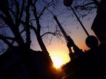 Романтичное Eifel Стоковое Изображение
