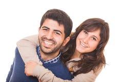 Романтичные молодые пары стоковая фотография