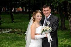 Романтичные пары венчания Стоковое Изображение