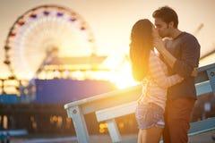 Романтичные пары Стоковая Фотография