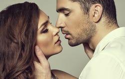 Романтичные пары Стоковое фото RF