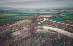 Романтичный баварский взгляд панорамы стоковое изображение