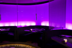 Романтичный бар-ресторан Стоковое фото RF