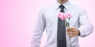 Романтичный бизнесмен Стоковое фото RF