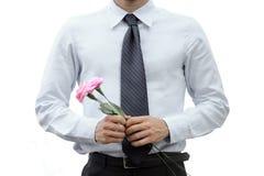 Романтичный бизнесмен Стоковые Фотографии RF