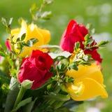 Романтичный букет цветка стоковая фотография