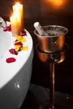 Романтичная спа Стоковая Фотография RF