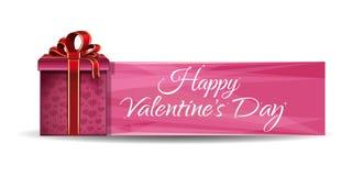 Романтичный дизайн на день валентинок Стоковые Фото