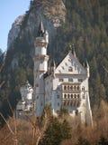 Романтичный замок баварского короля Ludwig II Германия Нойшванштайн стоковая фотография