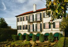 Романтичный музей в Oporto Стоковое фото RF
