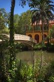 Романтичный парк стоковые фото