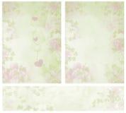 романтичный сбор винограда текстур иллюстрация вектора