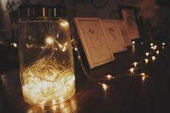 романтичный свет стоковая фотография