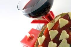 романтичный ужин стоковые фото