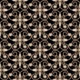 Ромбовидный узор золота Стоковая Фотография