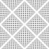 Ромбовидный узор дизайна безшовный снованный иллюстрация штока