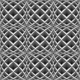 Ромбовидный узор дизайна безшовный monochrome иллюстрация вектора