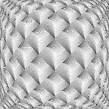 Ромбовидный узор решетки дизайна снованный monochrome бесплатная иллюстрация