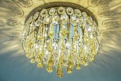 Роскошная лампа люстры Стоковые Изображения