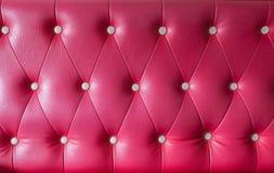 Роскошная винтажная кожа стиля с кнопкой Стоковые Изображения