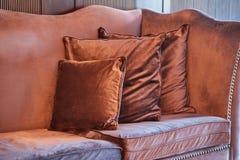 Роскошная винтажная софа Стоковое Изображение RF