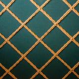Роскошная винтажная ткань стиля с текстурой кнопки от софы Стоковые Изображения