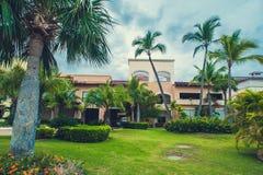 Роскошная вилла в Доминиканской Республике, иметь Стоковое Фото